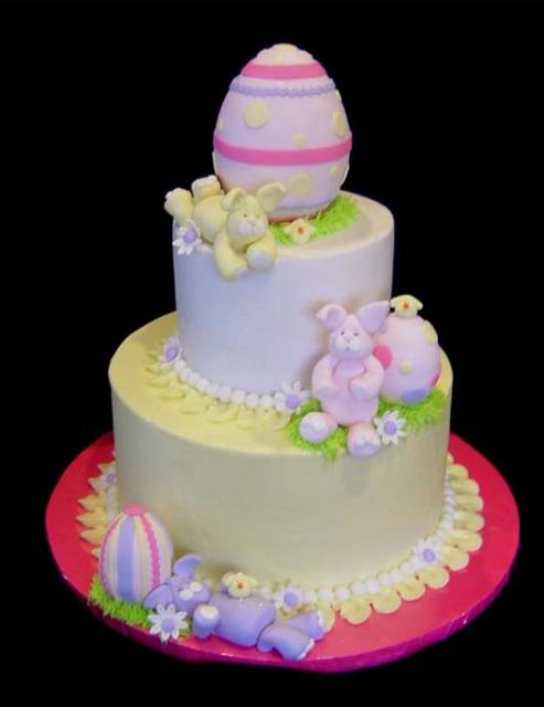Easter Cake Designs With Eggs And Bunnies My Cake Decorating Blog