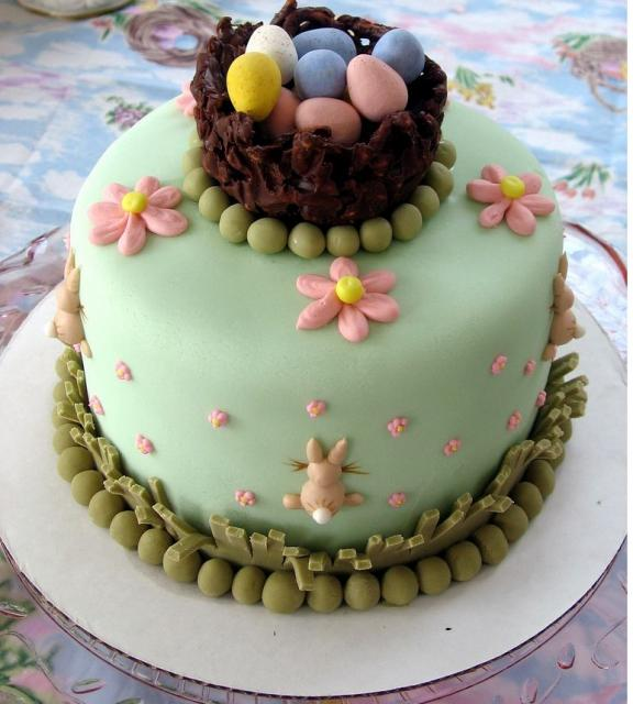 Cake Decorated With Easter Eggs : Easter Egg Bunny cake ideas My Cake Decorating Blog